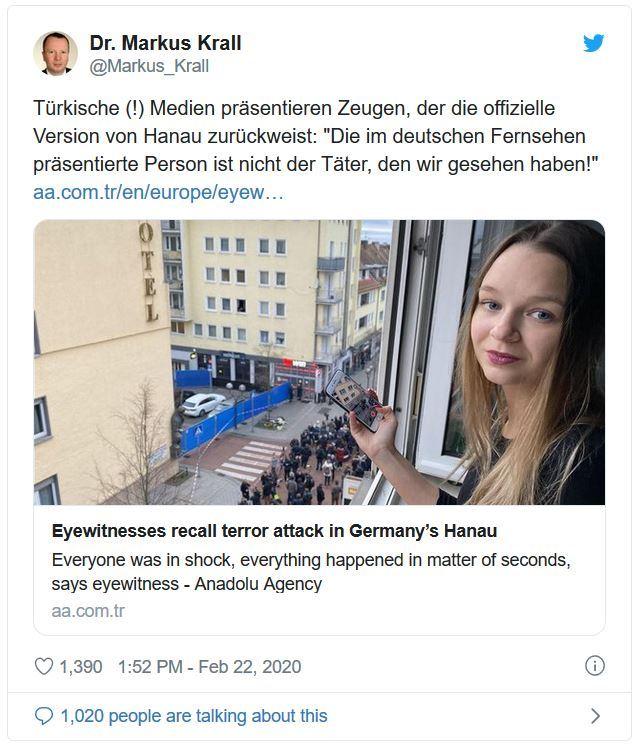 Bildergebnis für Hanau: MEGA–PANNE beim FAKTENPRÜFER lässt SCHWINDEL endgültig auffliegen!