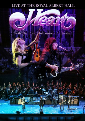 Heart Live At The RAH DVD cover lr