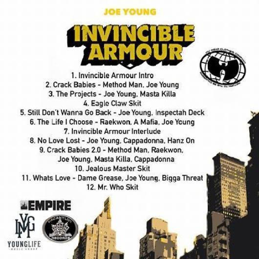 Invincible Armour Tracklist