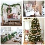 Farmhouse Christmas Style Decor  DIYs  and Inspiration