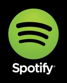 Spotify logo vertical black