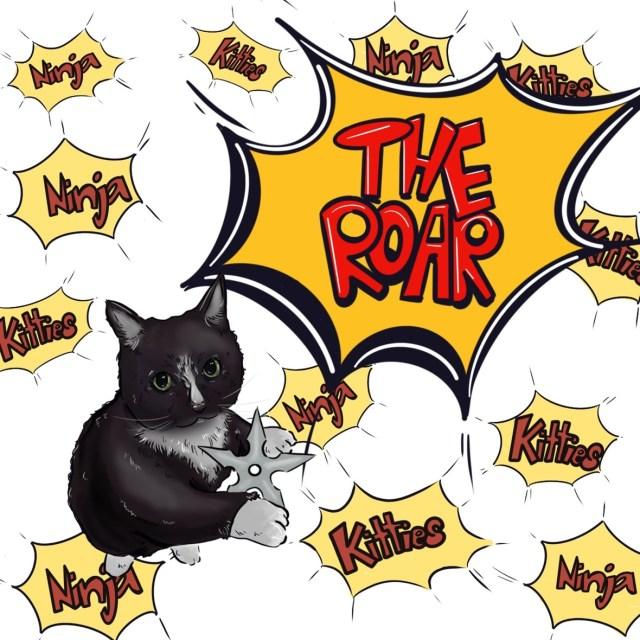 Ninja Kitties LP cover 1 jpg - Copy