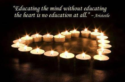 aristotle heart candles