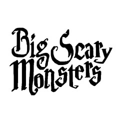big scary monsters logo