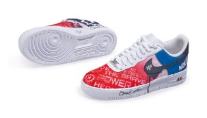 10395 Custom Juneteenth Nike Air Force 1s - A Niko Brim Ms. Opal Lee and Sierato Collaboration