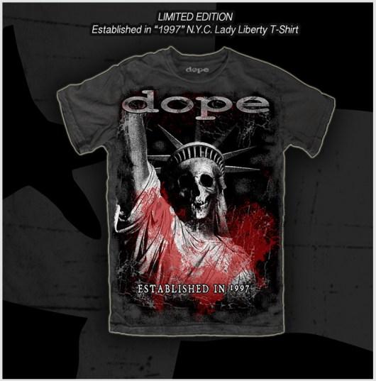 DOPE 1997 T-Shirt grey