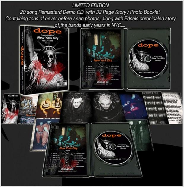 DOPE 1997 cd-Photobook