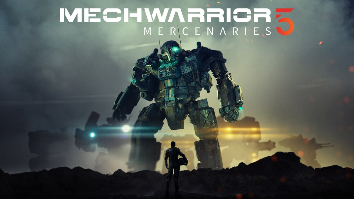 MechWarrior 5 Mercenaries - Key art - horizontal