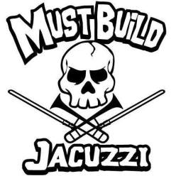 must build jacuzzi logo