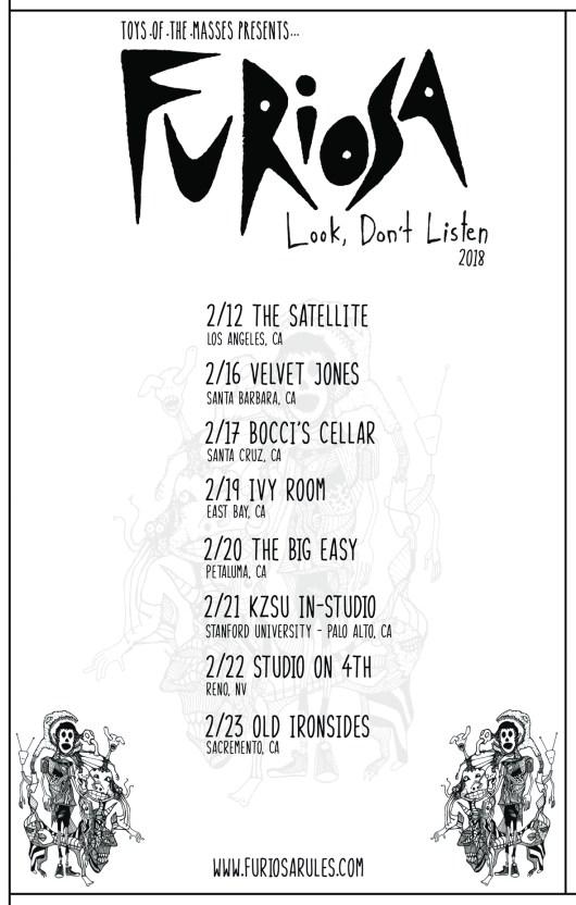 FURIOSA TOUR POSTER 16-23