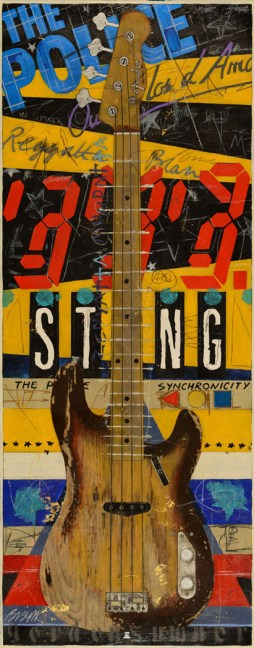 49x20 Sting Fender Bass
