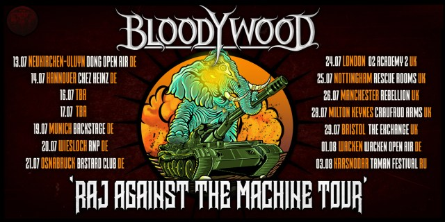 Raj Agasinst The Machine Tour