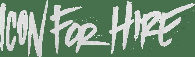 Band Logo - White