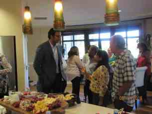 Dr. Chagarlamudi Meet & Greet Aug. 2016