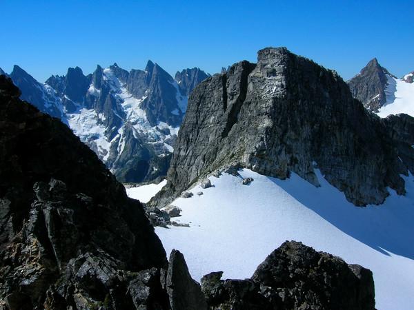 Ridge crest to Mount Fury