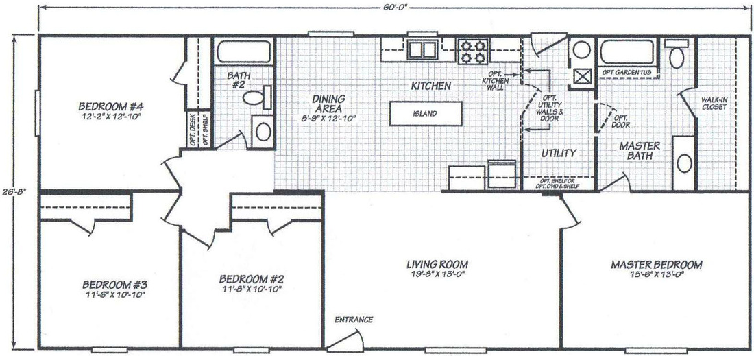 2001 Fleetwood Mobile Home Floor Plans