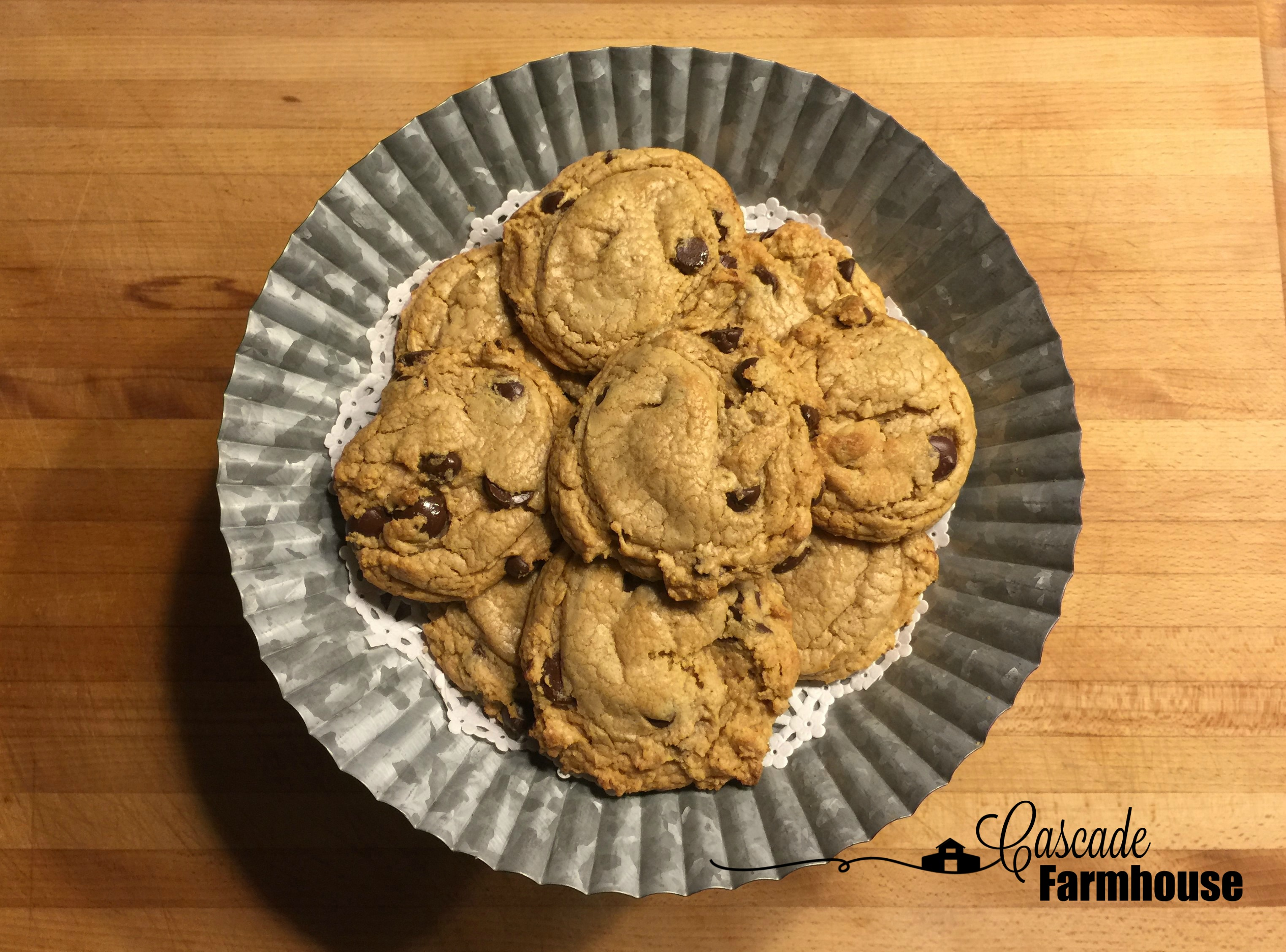 Yay, For Hot And Fresh Cookies From The Oven!