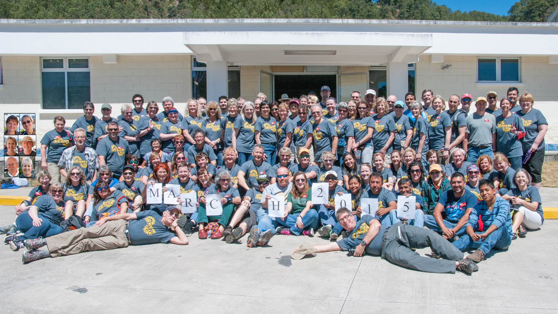 Cascade Medical Team, February-March, 2015 group photo