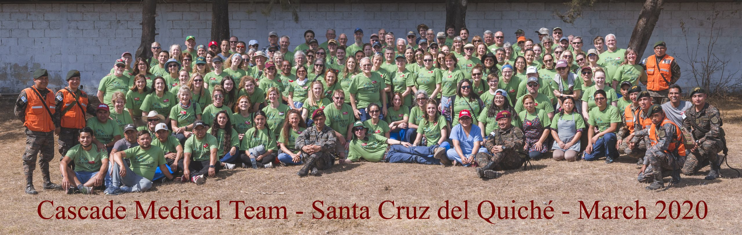 Cascade Medical Team, March 2020 group photo