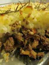 wild mushroom shepherd's pie
