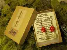 Fly Amanita Earrings