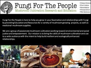 Fungi for the People Graphic