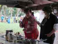 Jennifer Burns Bright, Emcee of the Culinary Demos with Heather