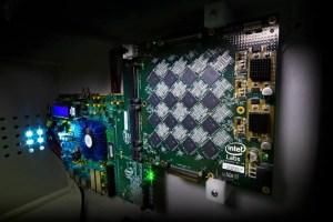 Intel's Intel's Nahuku board requiring PCBA manufacturing