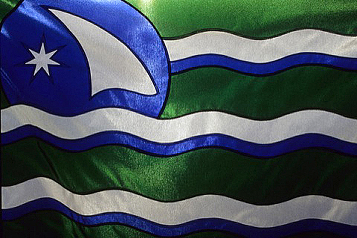 Cascadia flag photo