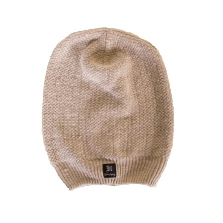 Hemptique hemp beanie long natuarl