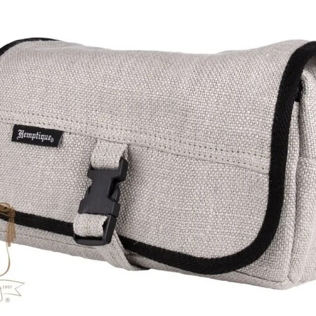 Hemptique toiletry bag natural