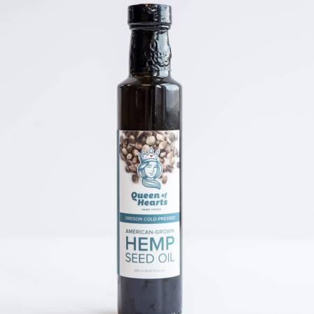 Queen Of Hearts Hemp Seed Oil 12oz
