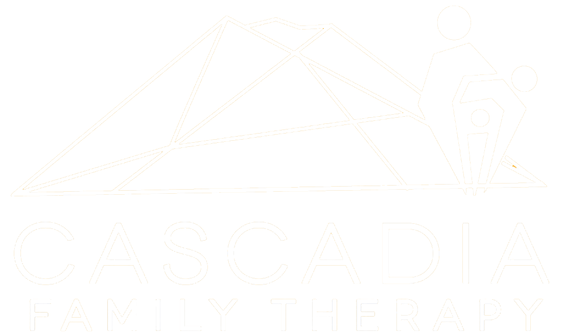 Cascadia Therapy Logo White