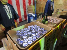 Hot sake was abundant on the cold night