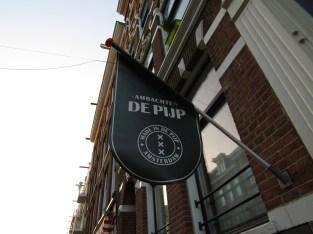 The De Pijp neighborhood near our apartment.
