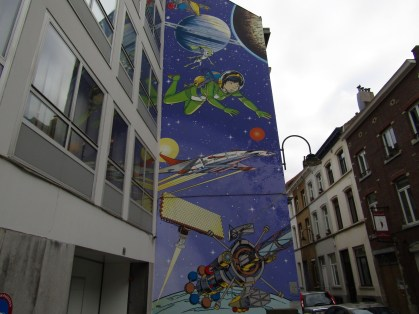 The Brussels Comic Strip Trail