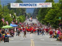 July 4 festivities in Monmouth/Independence kick off with a 5K fun run from Western Oregon University to Riverview Park.
