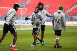 Nicolas Lodeiro and Joevin Jones share a laugh. ( Sounders FC)