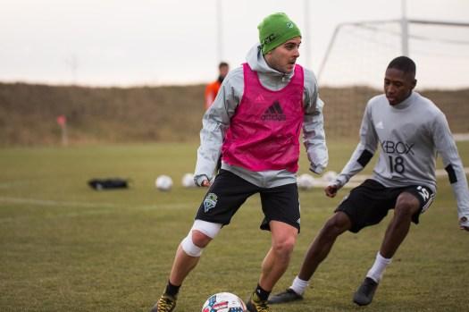 Jordan Morris makes a move. ( Sounders FC)