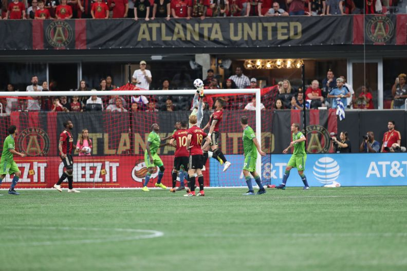 Frei save versus Atlanta
