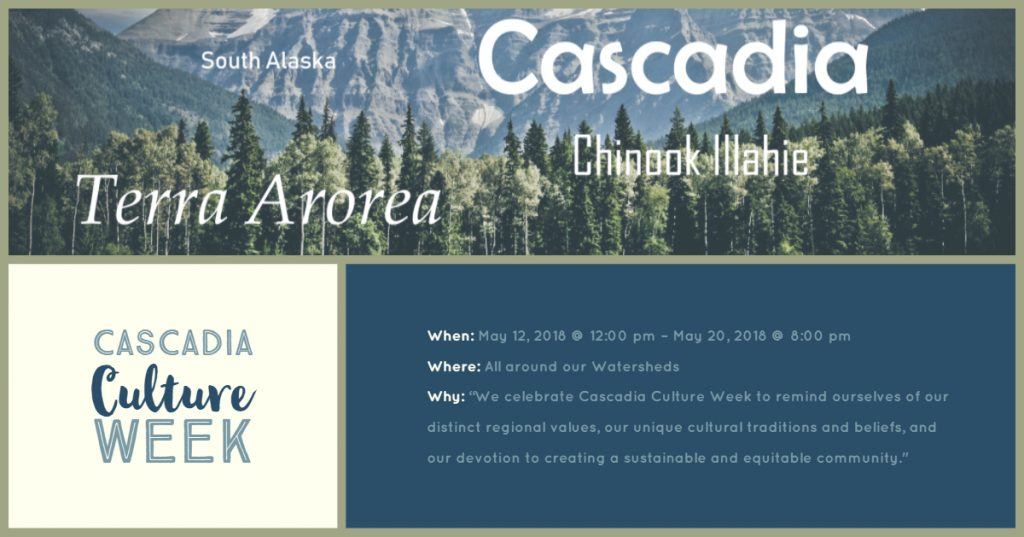 Cascadia Culture Week, an event in the Perfect Cascadian Summer