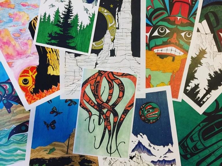 Savannah LeCoru Paintings and Drawings