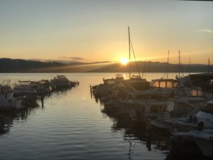 Sunrise from Rainier Beach