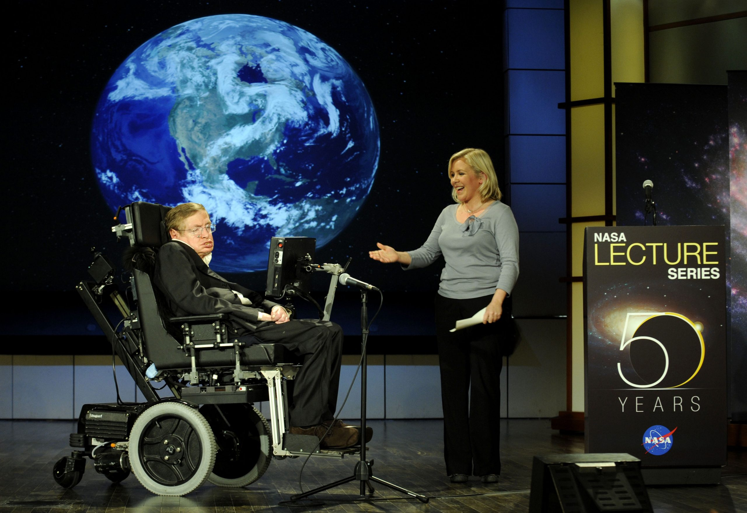 Stephen_hawking_and_lucy_hawking_nasa_2008 featured in This Week in Cascadia: May 27th - June 3rd