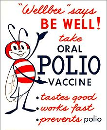 An early ad for an oral polio vaccine. Featured for This Week in Cascadia June 4th - June 9th