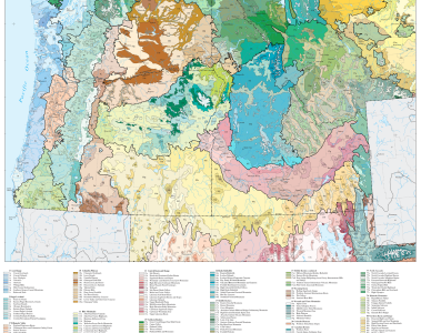 US Cascadia Ecoregions Map