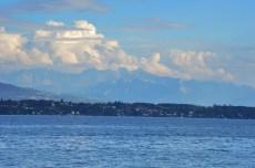 Franta vazuta din Elvetia, dupa Geneva