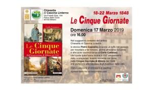 """17 marzo: """"Le Cinque Giornate di Milano"""""""