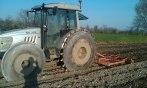 preparazione letto di semina per il mais..