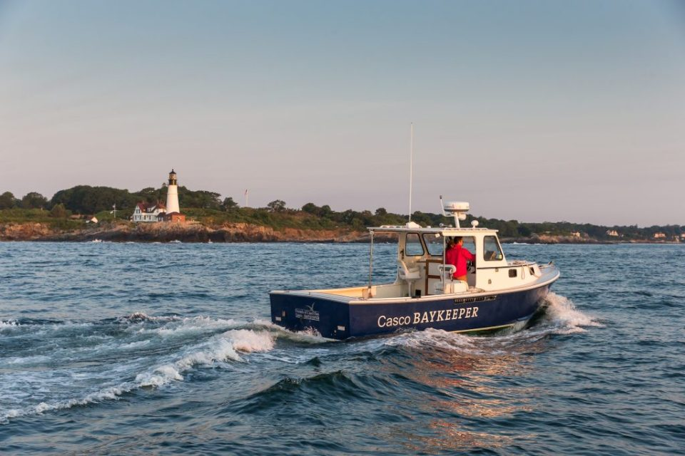 Friends of Casco Bay Baykeeper Boat Portland Headlight